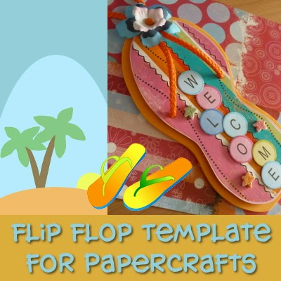 graphic regarding Flip Flop Template Printable referred to as Change Flop Printable Template for Crafts