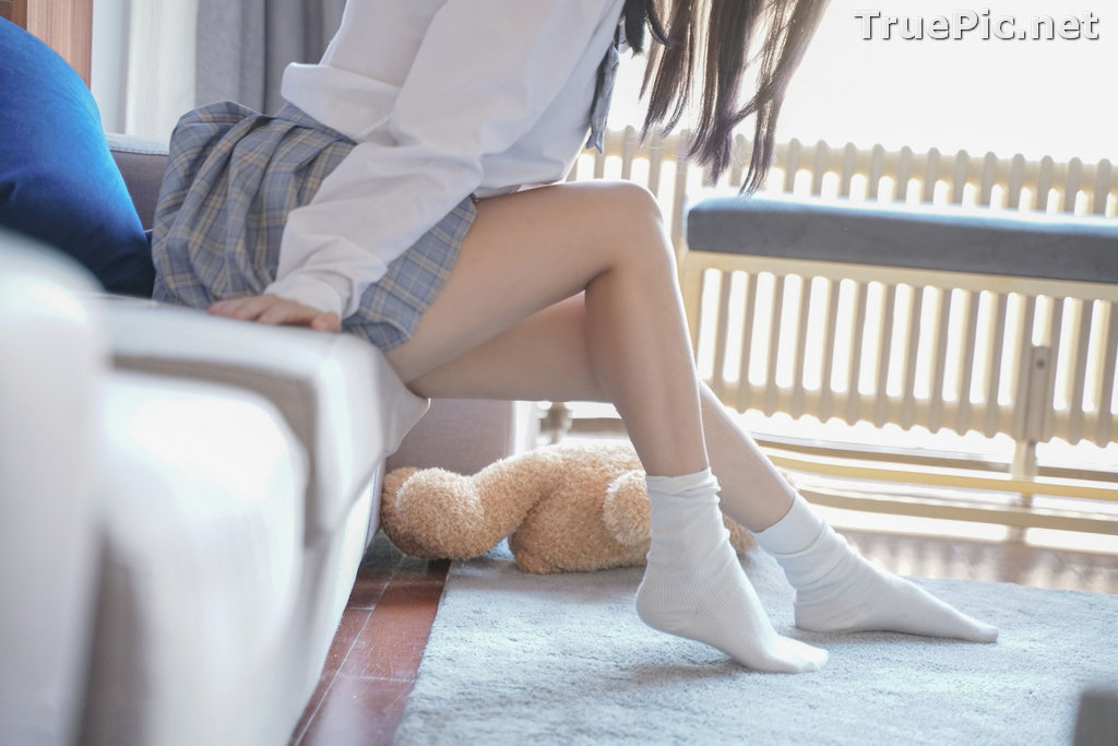 Image [MTCos] 喵糖映画 Vol.047 – Chinese Cute Model – Sexy Student Uniform - TruePic.net - Picture-30