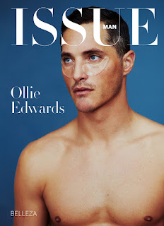 Supermodel Ollie Edwards Poses for Issue Man South America