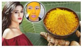 Get shining face using turmeric like Shivangi Joshi