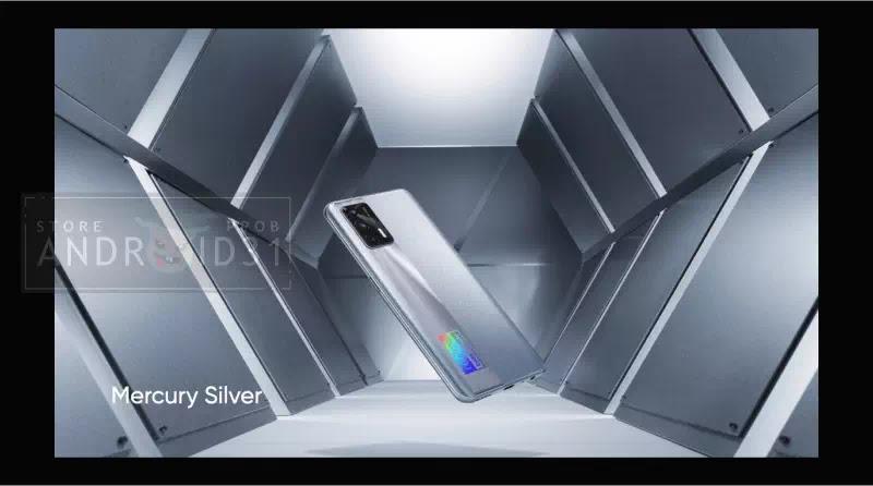 Realme X7 Max 5G Mercury Silver
