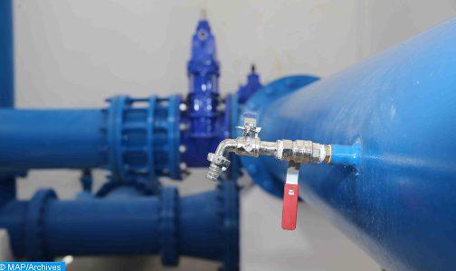 استغلال قنوات جر جديدة لتقوية انتاج الماء الشروب بتازة