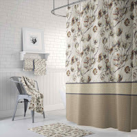 Color combination ideas for shower curtain