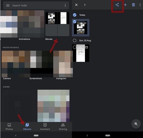 Cara Edit Video Menggunakan Aplikasi Google Photos App. 8