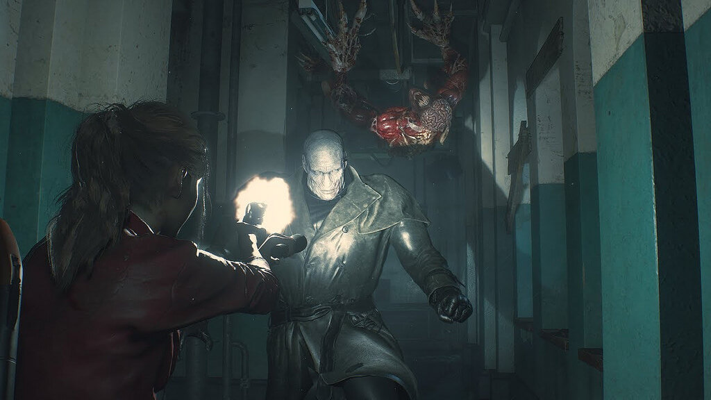 Twitter's Reaction On Resident Evil 2 Remake's Hat-Wearing Gigantic Terror Mr X