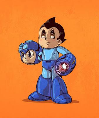 Mega Man y Astroboy