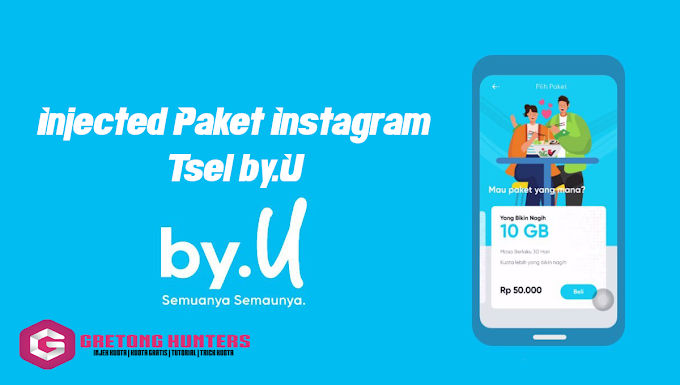 Tsel By.U Instagram 3GB 30 Hari Rp.5.000 14 Jan 2020 | Telkomsel By.U