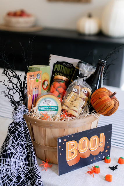 The Perfect Ingredients for a Neighborly Boo Basket