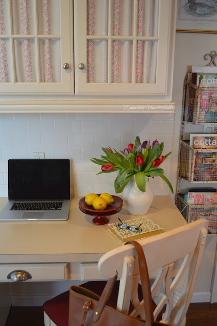 Charming Cottage Style Desk Area