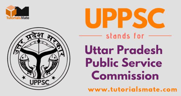 UPPSC Full Form