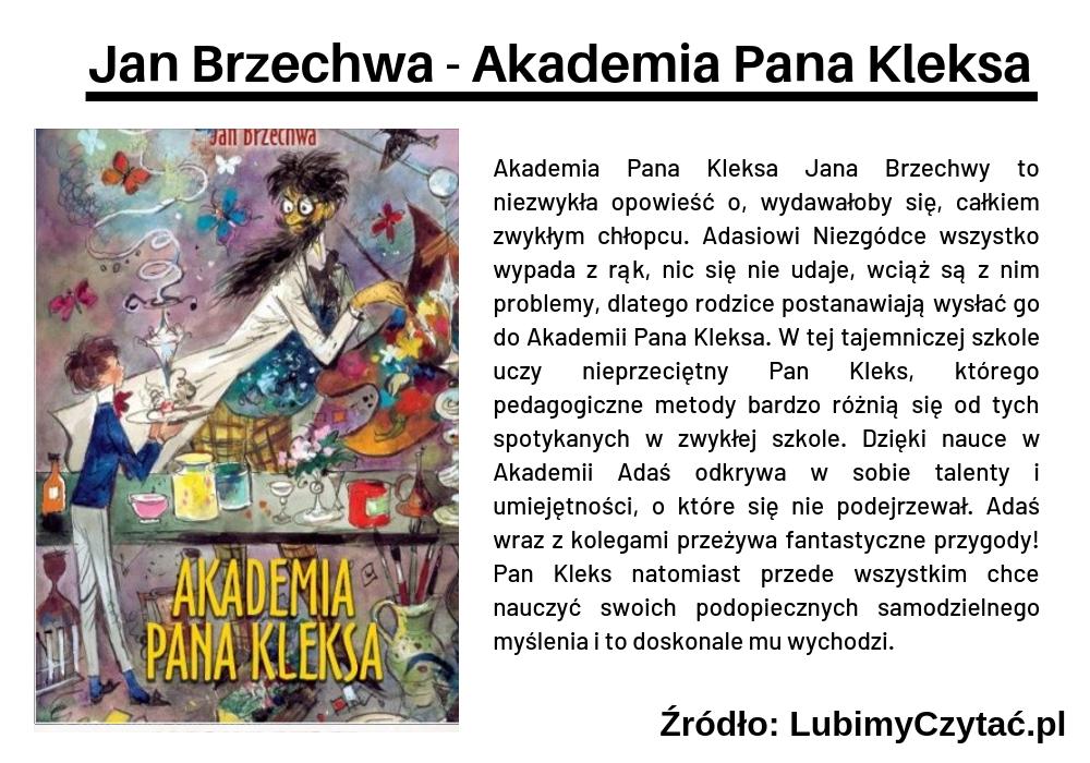 Jan Brzechwa - Akademia Pana Kleksa, Topki, Marzenie Literackie