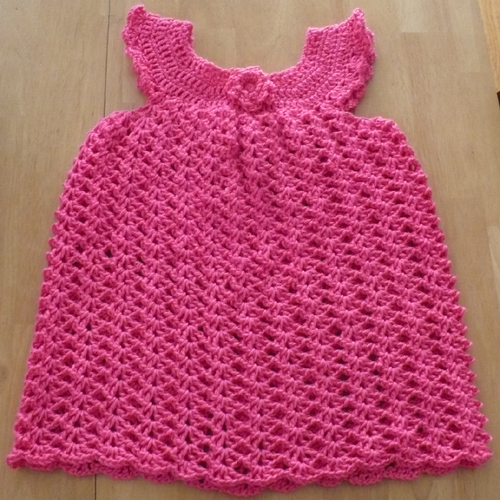Girl's Lace Pinafore - Freee Pattern