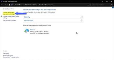 Cách tắt thông báo Security and Maintenance trong Windows 10