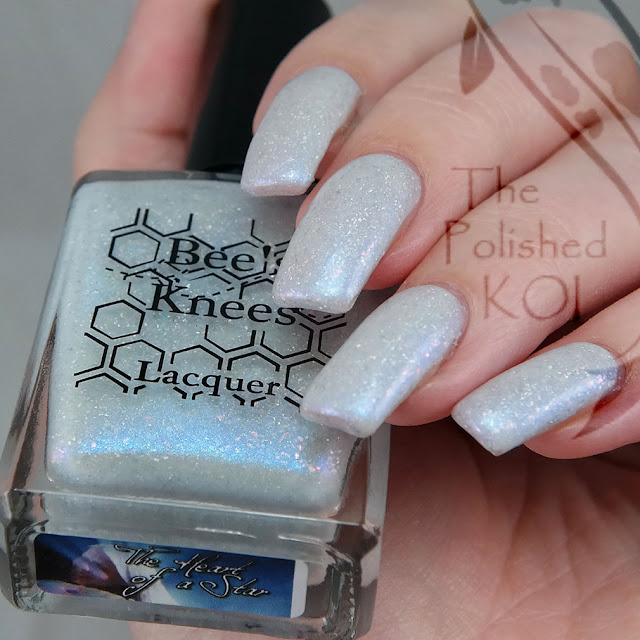 Bee's Knees Lacquer Bubbling  The Heart of a Star