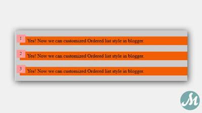 List number blogger model 4