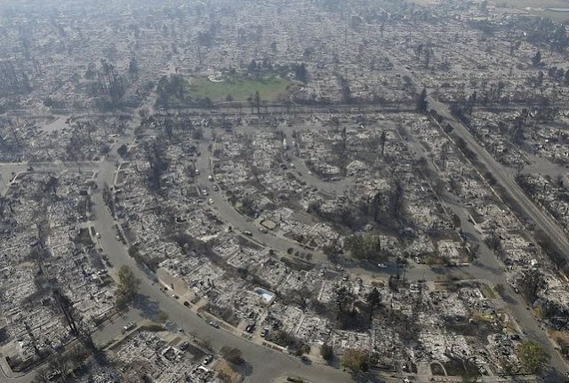 Images from The Aftermath of California's Wildfires