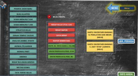 gambar menu aplikasi guru kelas lengkap terbaru