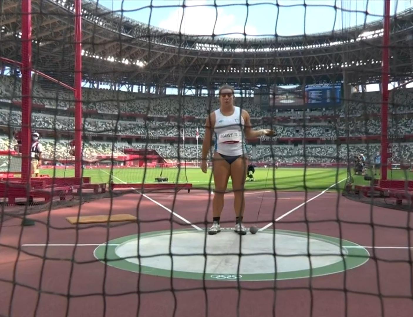 Ολυμπιακοί Αγώνες: Σταθερή Σκαρβέλη με 69,01μ. στον προκριματικό της σφυροβολίας