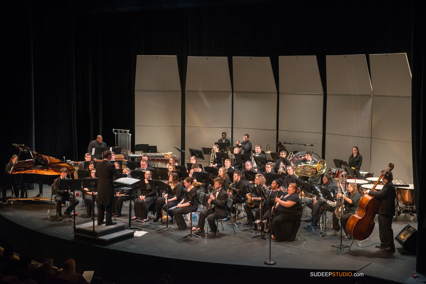 University of Michigan School of Music Wind Symphony Orchestra - Sudeep Studio