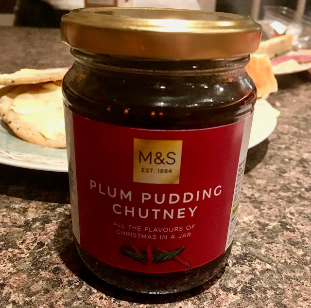 Plum Pudding Chutney (Marks & Spencer)