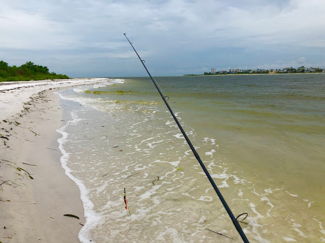 Fishing Big Carlos Pass at Lovers Key State Park