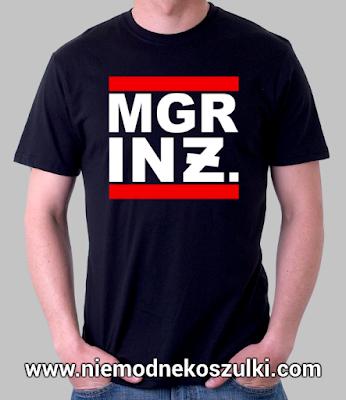 koszulka prezent na obronę magistra inżyniera