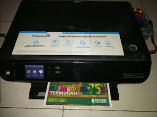 HP Deskjet 4515 Modifikasi CISS Infus