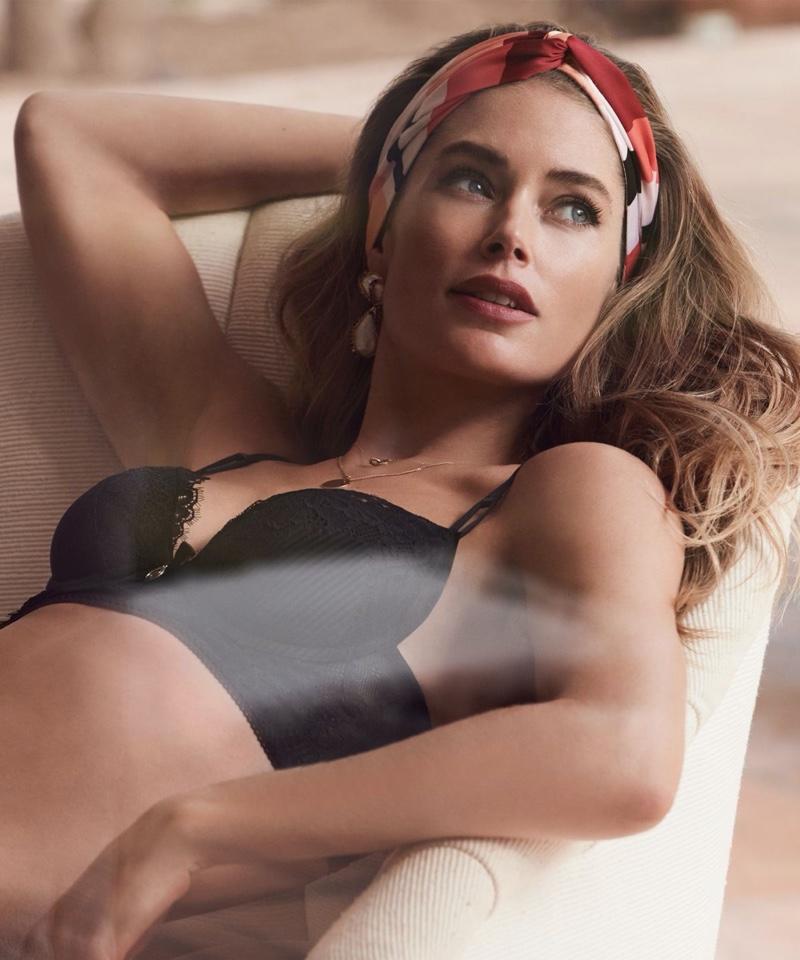 Doutzen Kroes stars in Hunkemoller spring 2020 lingerie campaign
