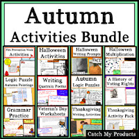 Autumn activities in multiple subjects to engage and challenge kids