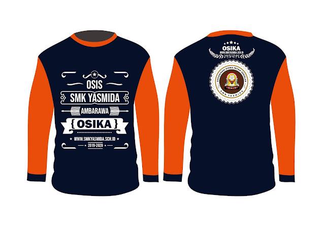 Desain Kaos Seragam OSIS SMK #3