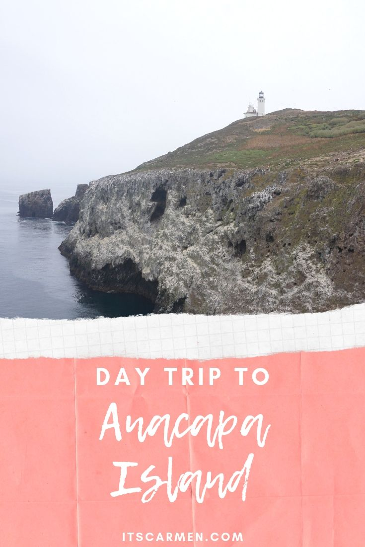 Pin this image on Pinterest - Day Trip to Anacapa Island