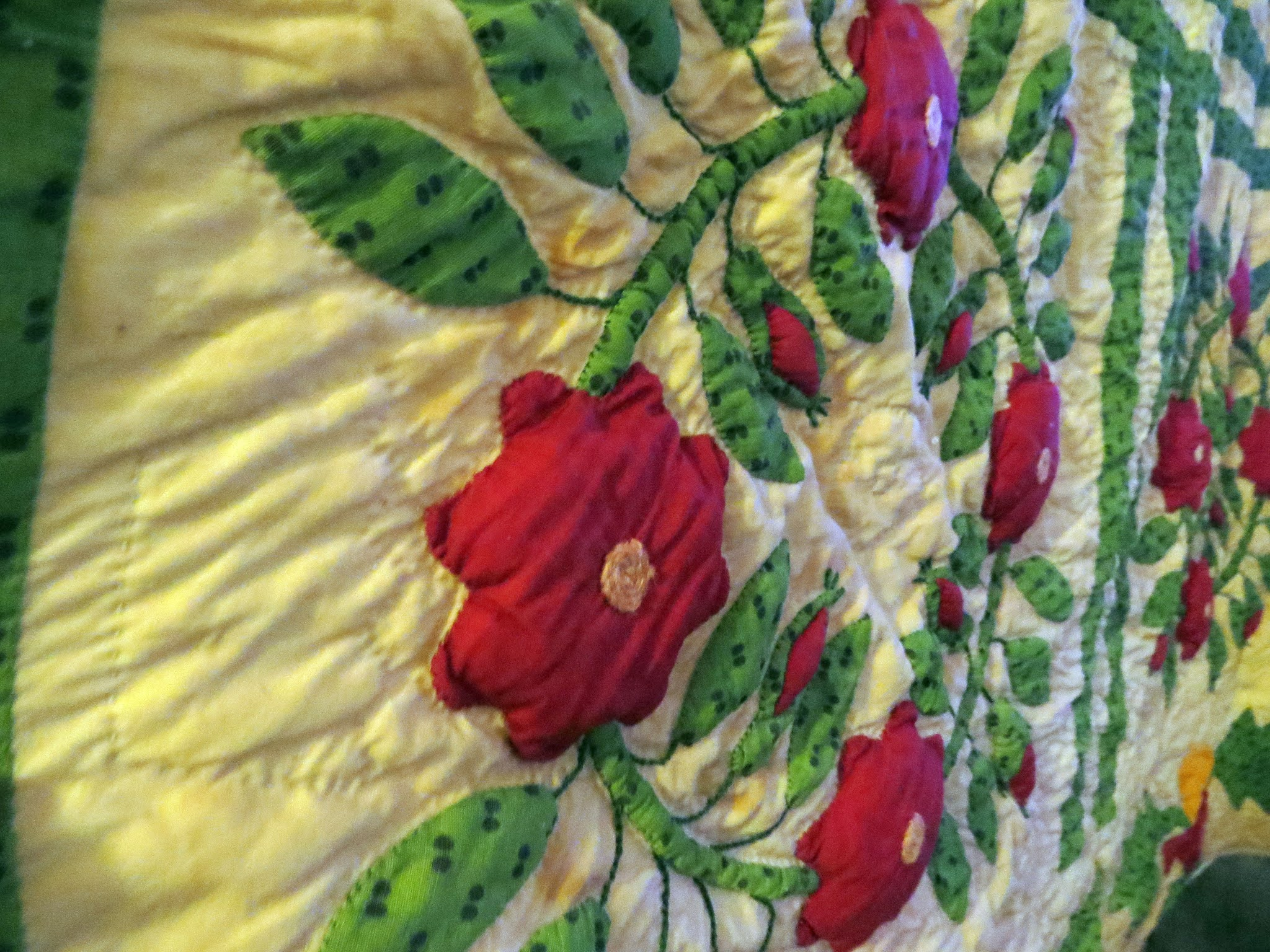 circle of roses quilt