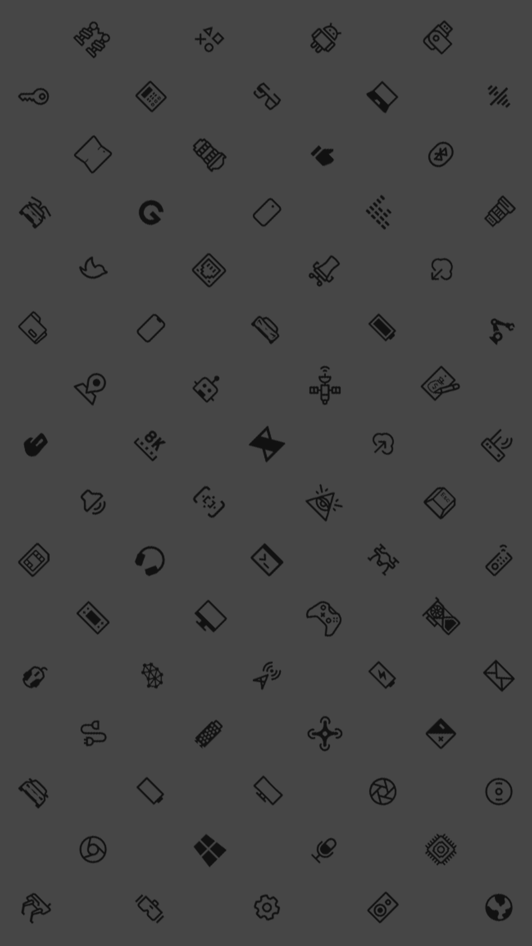 mkbhd icons black phone wallpaper