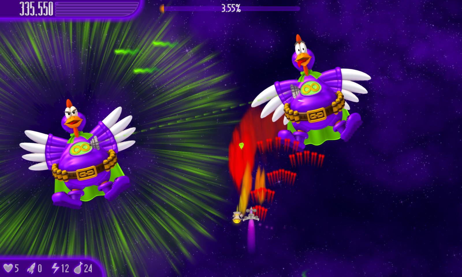 Tài Game Chicken Invaders 4 - Ultimate Omelette Mọi Phiên Bản