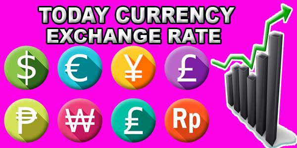 Today Currency Exchange Rate