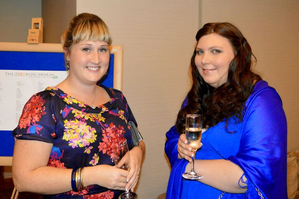 Karen from Grumpyish mum and Jen from My Mummy's Pennies MAD Blog Awards 2014