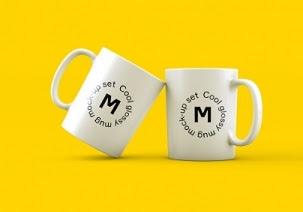 25 Mockup Mug Terbaik Format PSD Photoshop
