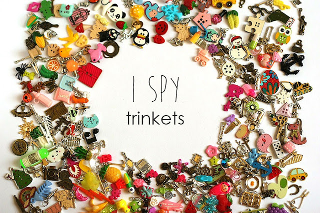 I spy trinkets TomToy I spy bag supply miniatures objects