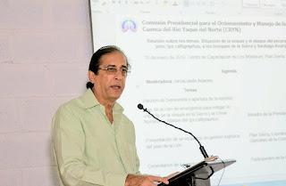 Gustavo Montalvo presenta plan de acción para combatir sequía y plaga del Escarabajo del Pino