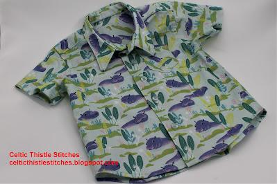 Boy's short sleeved shirt