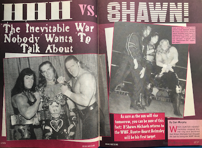 Inside Wrestling  - November 1998 -  HHH vs. Shawn Micahels - The Inevitable War Nobody Wants to Talk About (1)