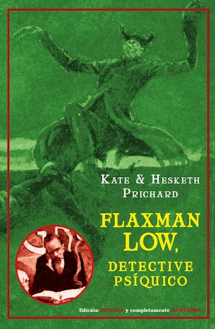 ¡Nuevo! FLAXMAN LOW, DETECTIVE PSÍQUICO. 22 euros