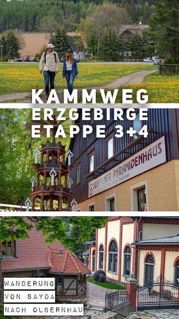 Kammweg Erzgebirge  Etappe 3+4 von Sayda nach Olbernhau  Wandern in Sachsen 32