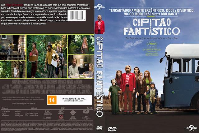 Capa DVD Capitão Fantástico