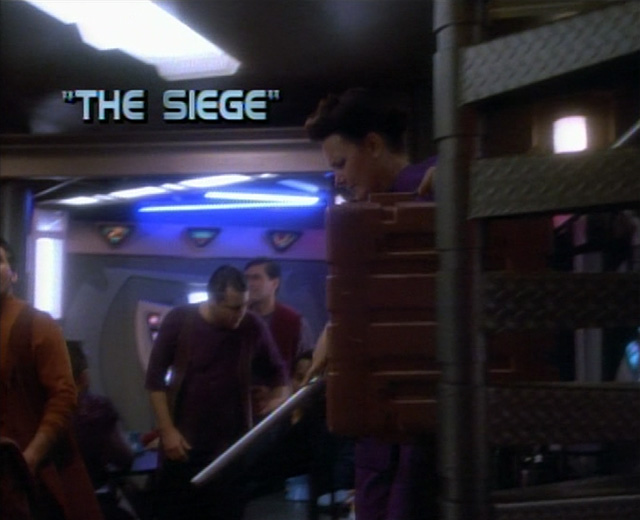 Image result for star trek ds9  episode the siege