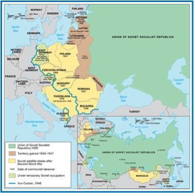 Ap European History Cold War Map Activity