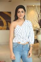 Avantika Mishra in One Shoulder Crop Top and Denim Jeggings ~  Exclusive 036.JPG