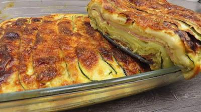Lazanje od Tikvica | Zucchini Lasagna