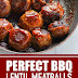 Perfect BBQ Lentil Meatballs (Vegan & Gluten Free) #meatballs #vegan