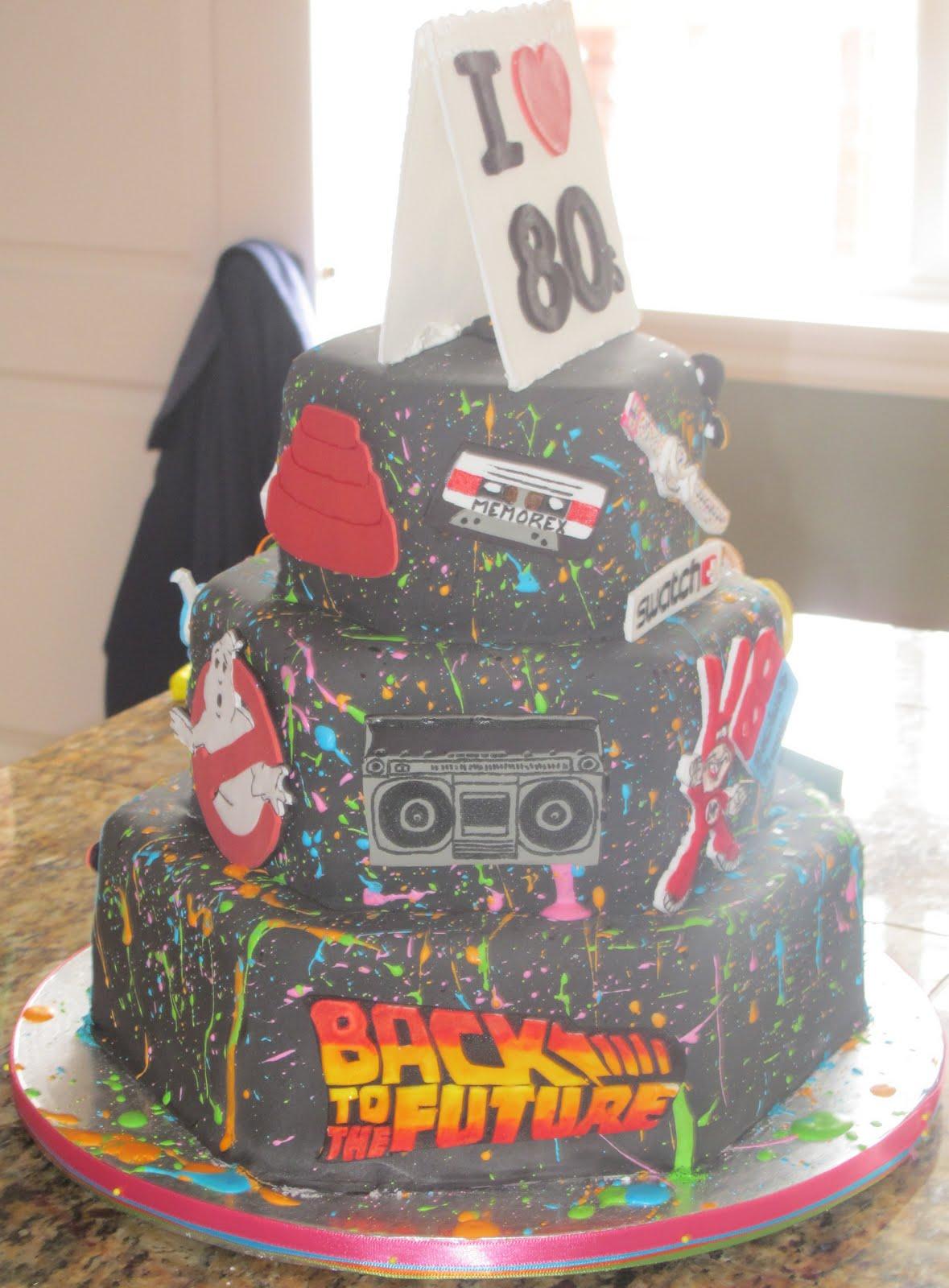J's Cakes: I [Heart] 80s Cake